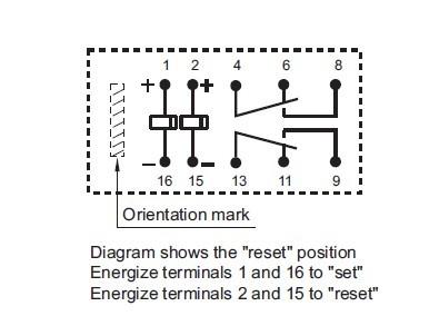 diagram latching relay circuit latching relay wiring diagram relay