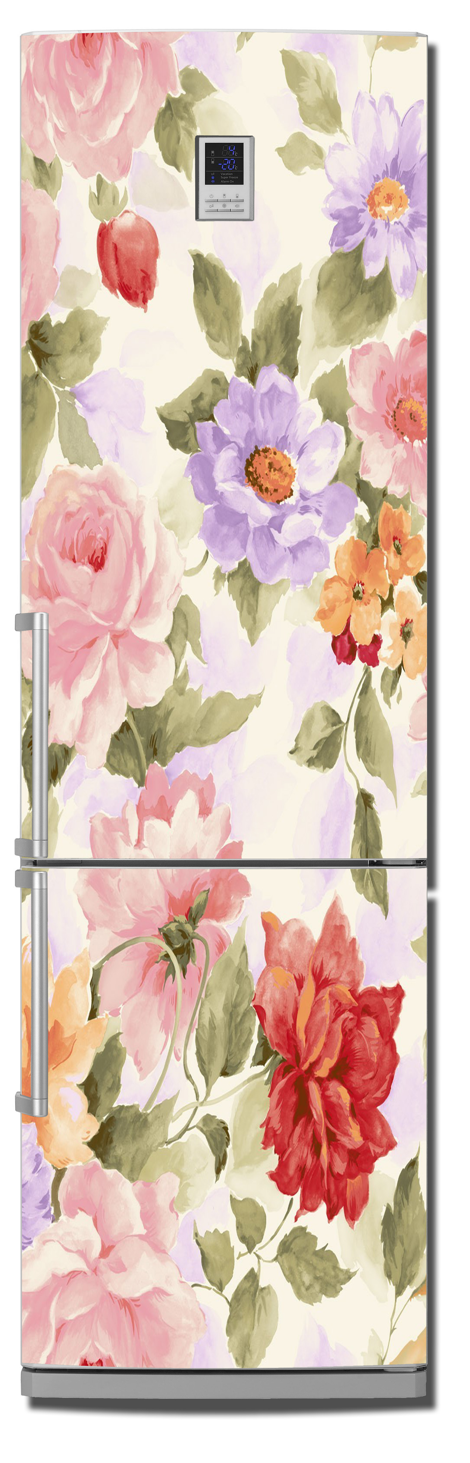 Виниловая наклейка на холодильник - Прованс